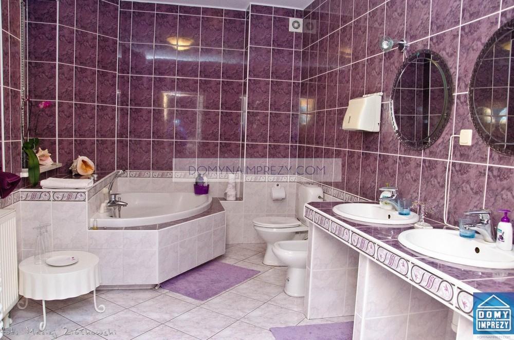 Luksusowa łazienka w willi na wynajem