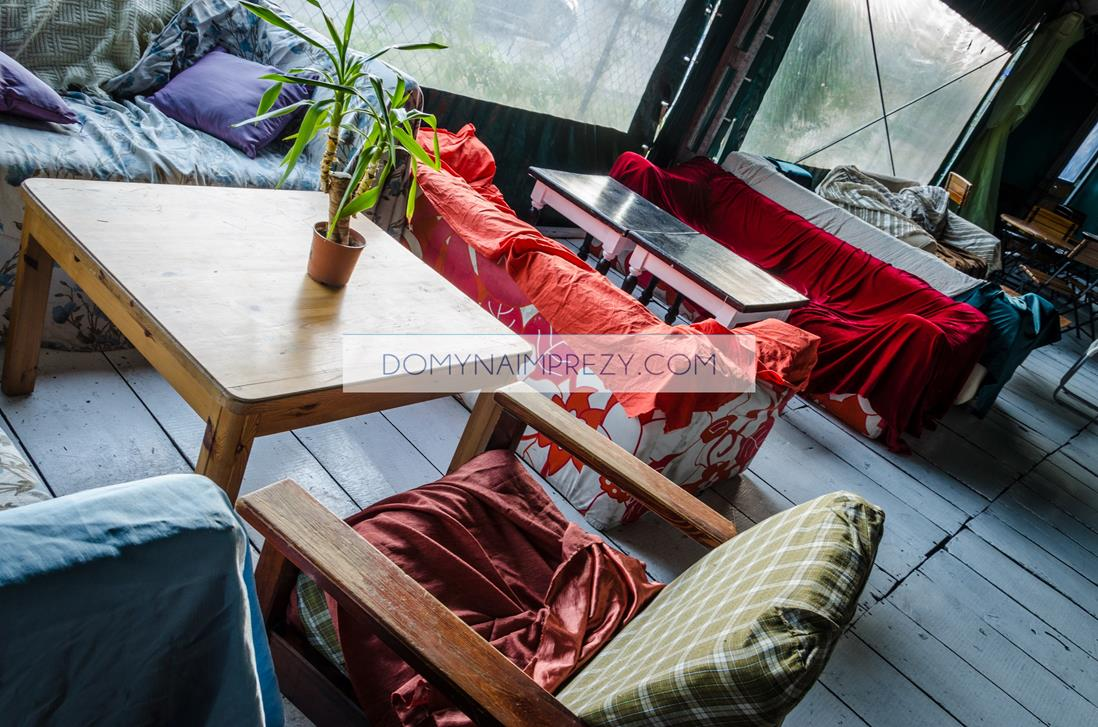 Siedzenia i taras