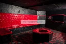 Czerwony pokój w Domu Arkadia