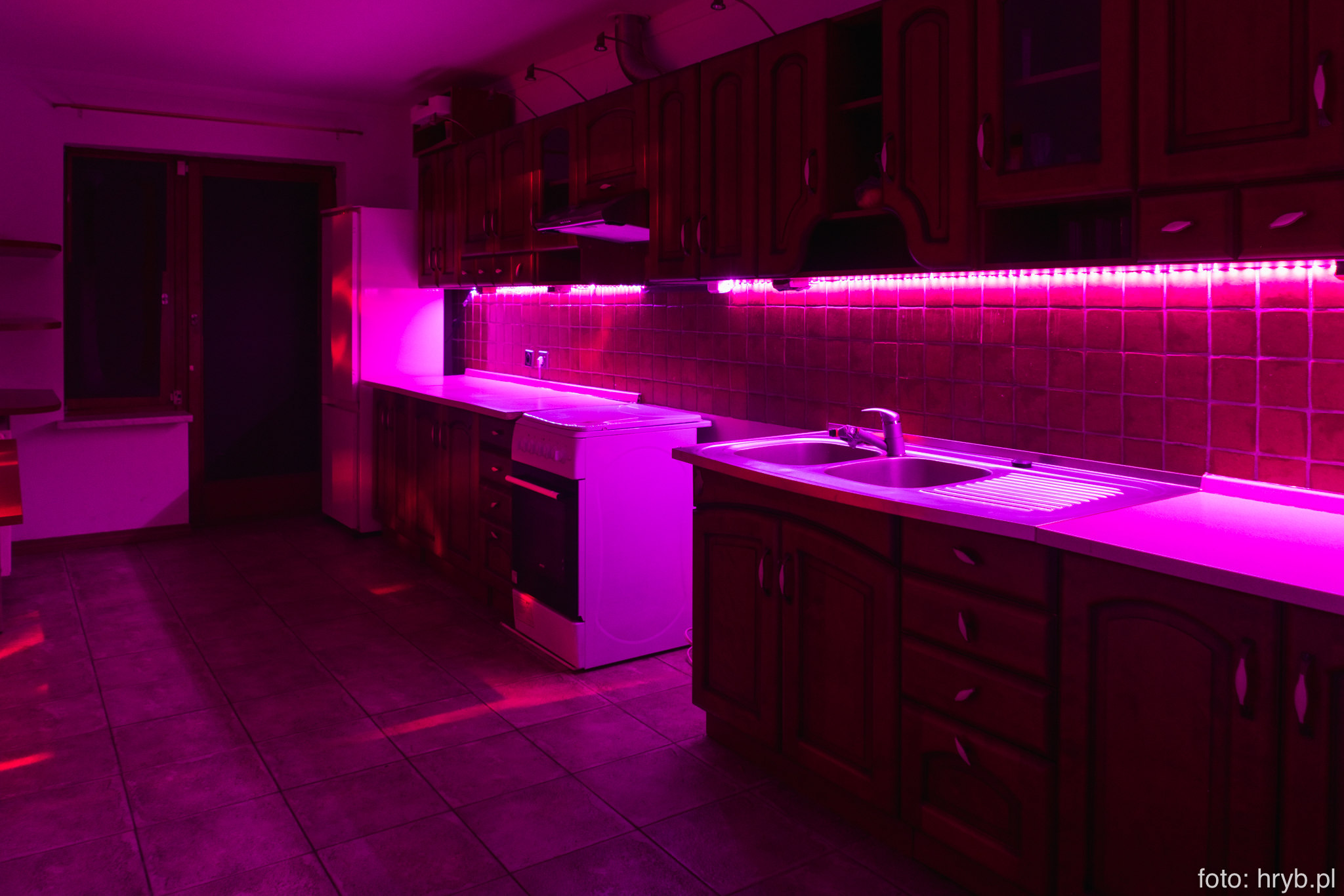 Kuchnia w domu na imprezy