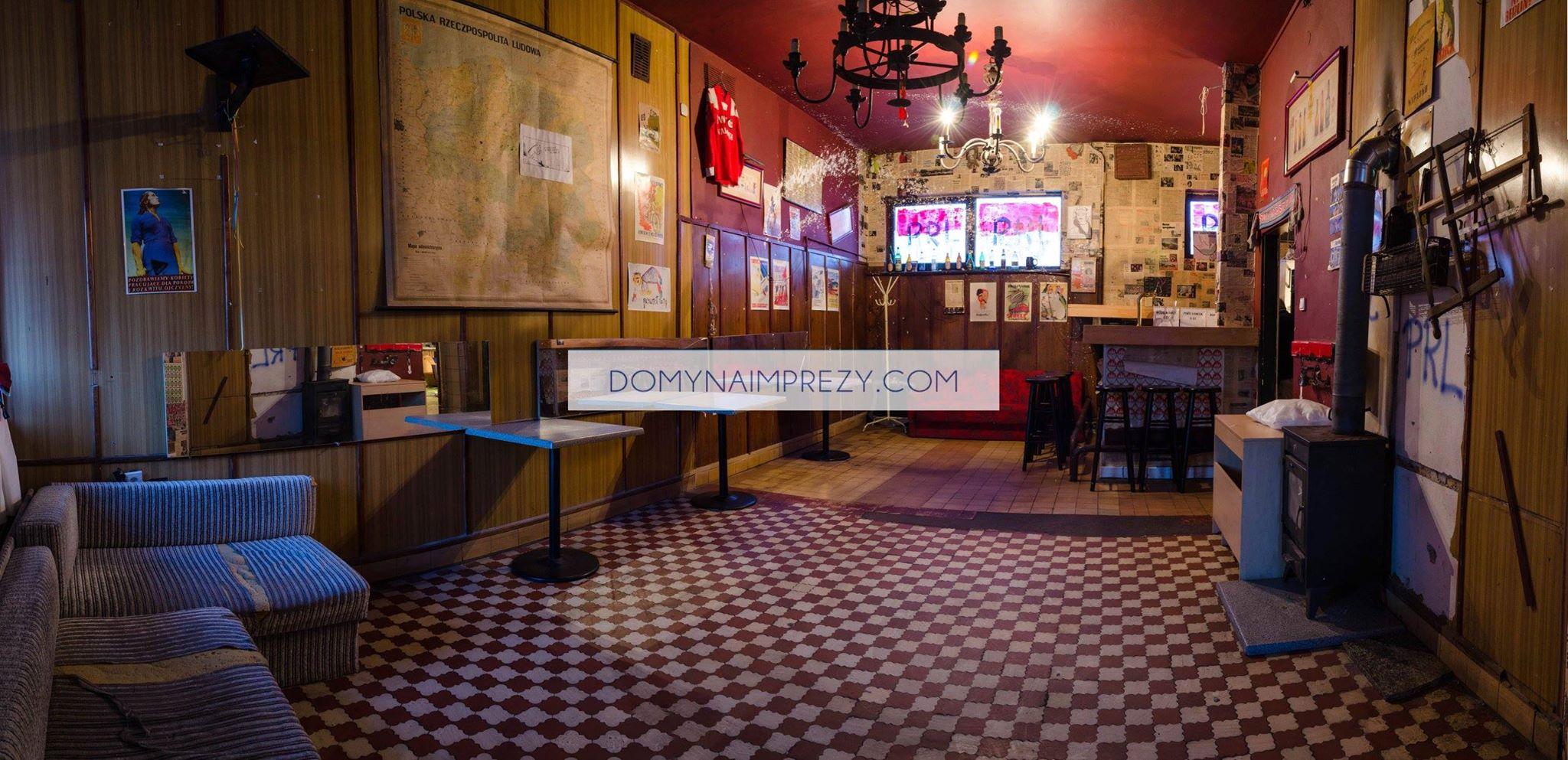 Widok na bar w Lokalu Bemowo