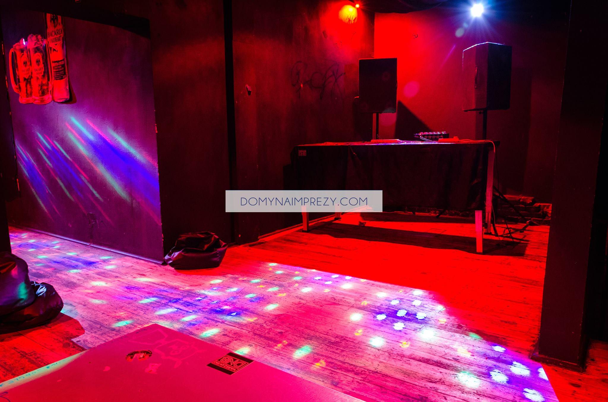 Miejsce dla DJa na urodzinach
