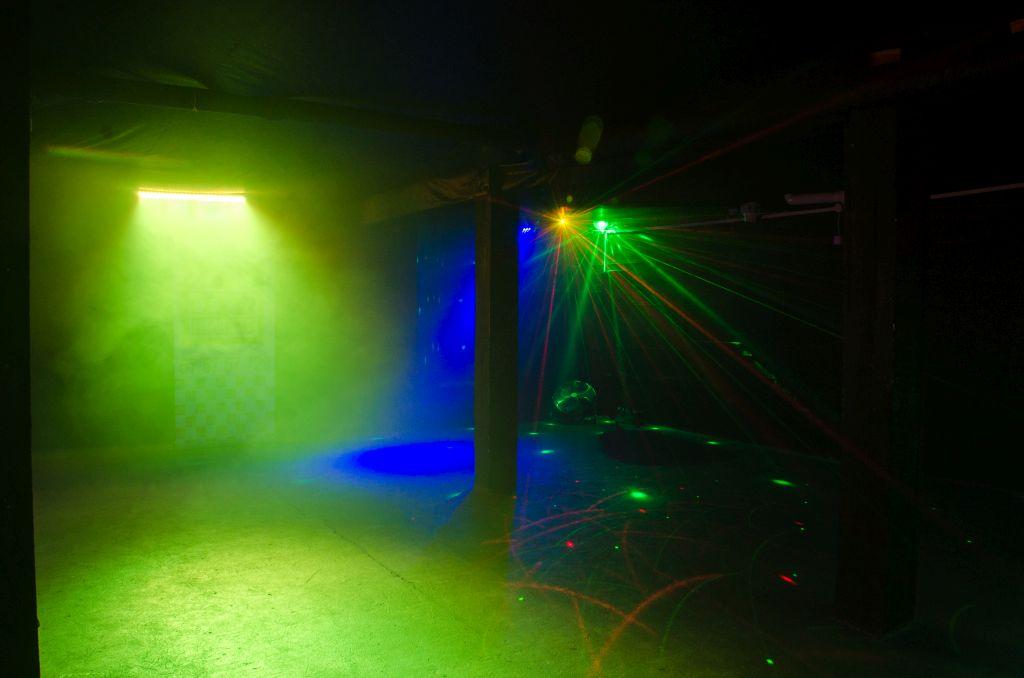 Oświetlenie w mieszkaniu na wydarzenia okolicznościowe