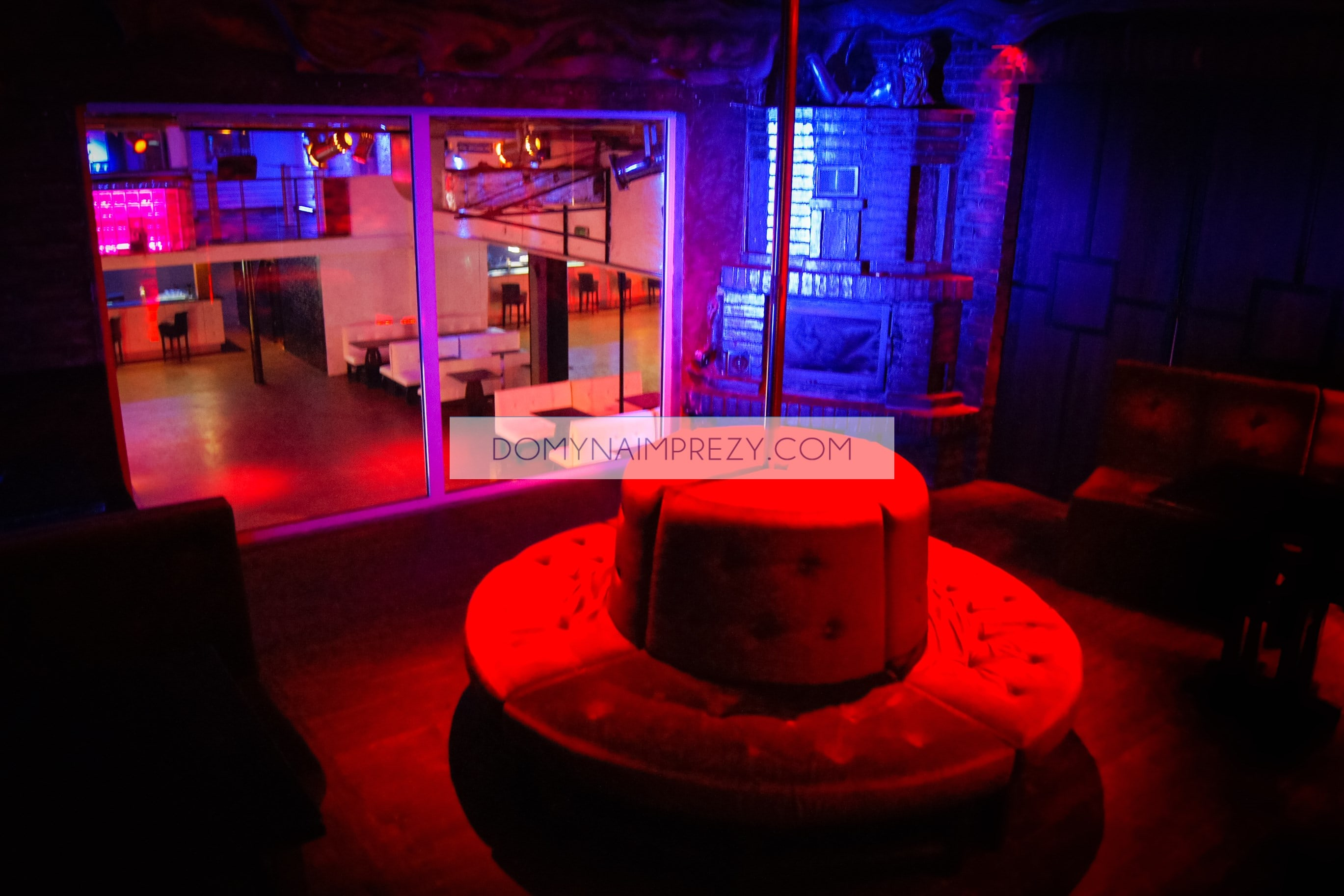 Klub - pomieszczenie vip