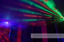 Oświetlenie sali do tańczenia
